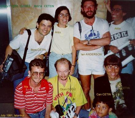 IAN WITH MY FAMILY ,IN ISTANBUL 1991
