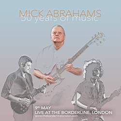 MICK ABRAHAMS Benefit Concert 2016 London