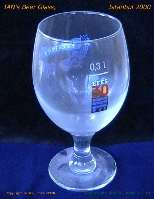 IAN's Beer Glass 2000