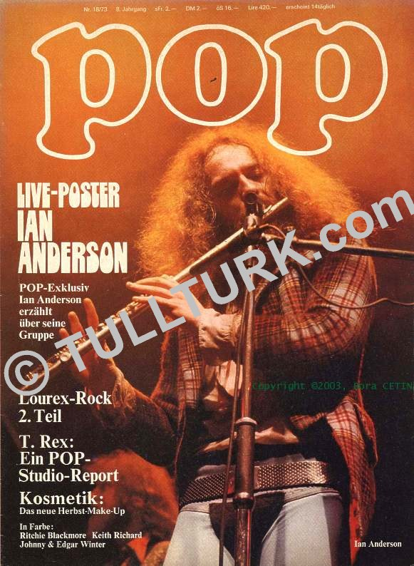 BC, Tull POP Magazines Pages