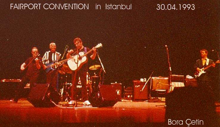 Fairport Convention Istanbul 1993